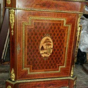Комод антикварный угловой 19 век Франция