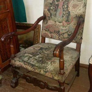 Кресло кабинетное начало ХХ-го века  Италия