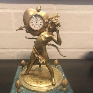 Кабинетные часы Купидон нач.ХХ-го века