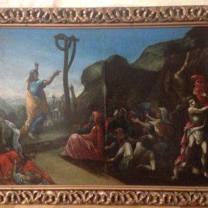Картина Медный змей 18-19 век