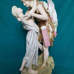 Фарфоровая статуэтка Влюблённые Германия Сер.ХХ-го века Голландия