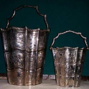 Ведёрко для шампанского и льда серебро нач.ХХ-го века Австро-Венгрия