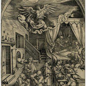 Ксилография Рождение Девы Альбрехт Дюрер 16 век