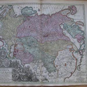 Карта России Imperium Russia Magna 18 век