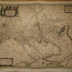 Карта Украины TYPUS GENERALIS UKRAINAE 17 век