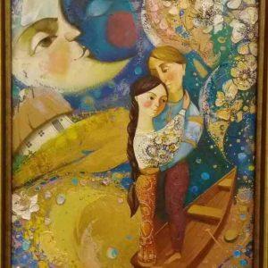 Картина  «Кохання. Зірки під ногами» (2015) Оксана Збруцька