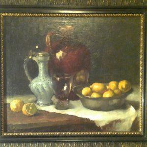 """Картина""""Натюрморт с лимонами"""" автор Г. Матис 1916 год"""