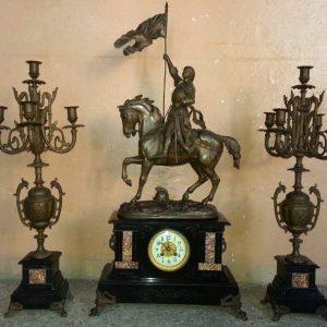 Часы каминныеЖанна Дарк 19 векНидерланды