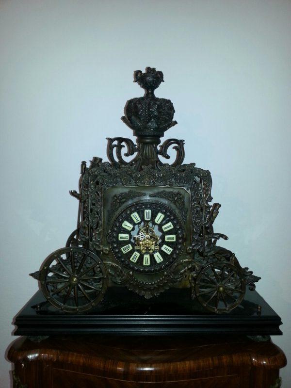 Каминные часы Карета. нач.ХХ-го века