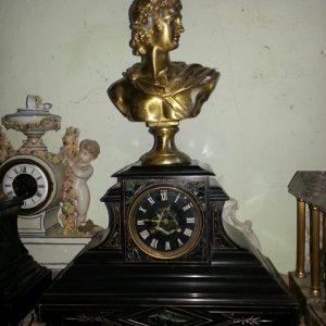 Каминные часы Александр Македонский 19 век