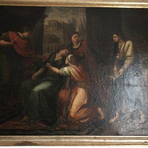 Картина на библейскую тему  19 век