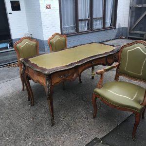 Антикварный стол с креслами нач 20 века  Австрия