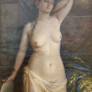 Картина Портрет девушки  1908 год