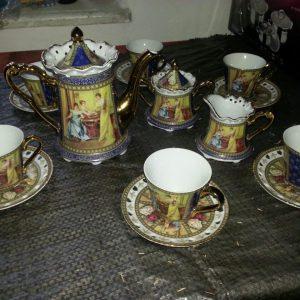 Чайный сервиз  первая треть ХХ века