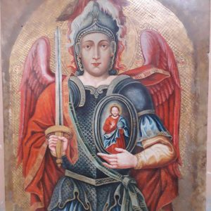 Икона архистратиг Михаил  19 век