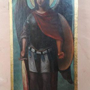 Икона архангел Михаил  19 век