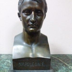 Бюст Наполеон первый бронза 1910-е