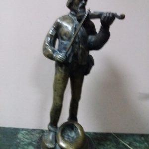 Статуэтка Скрипач 19 век  скульптор Ходорович Украина
