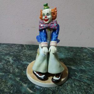 Статуэтка сидящий Клоун Бельгия 1967 год