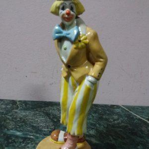 Статуэтка стоящийКлоун Бельгия 1988год