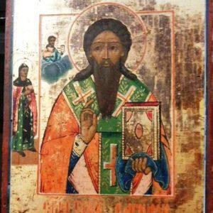 Икона Св. Василий Великий XIX-ый век