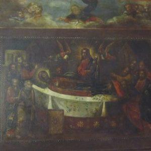 Икона Успение Пресвятой Богородицы XIX век