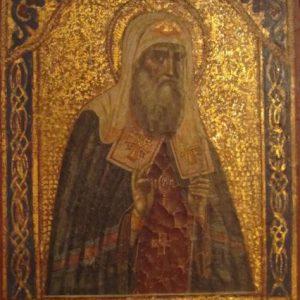 Икона Св.Алексий  XIX век