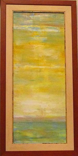Картина Благодатный зеленый луч рассвета Автор А.Клименко