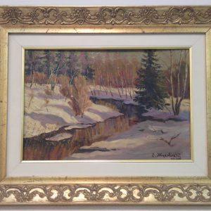 Картина Ранняя весна С.Ю.Жуковский 1902 год