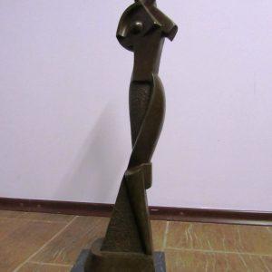 Скульптура Геометрическая композиция А.Архипенко  1914 год
