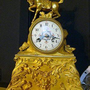 Часы кабинетные каминные  Кон.19 века