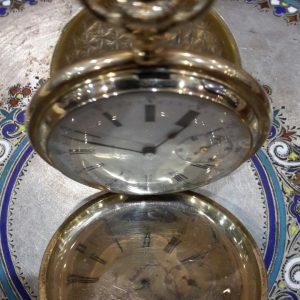 Золотые карманные часы Мозер  19 век