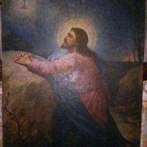 Картина  Моление о чаше худ. С.Ивченко  19 век